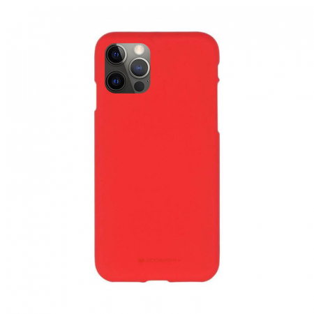 Husa Apple iPhone 12 Pro Max Rosu Jelly Soft0