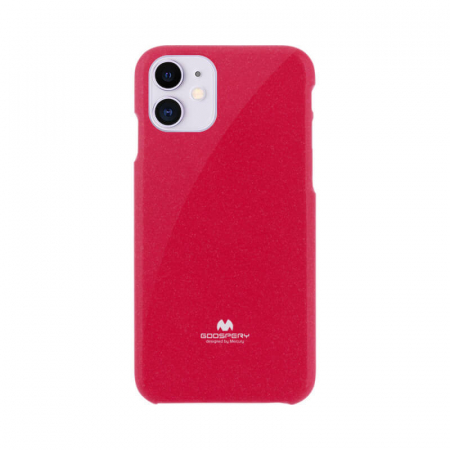 Husa Apple iPhone 12 Rosu Mercury Jelly0