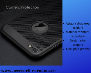Husa Apple iPhone 5 / 5S  Perforata PC Hollow Mesh Policarbonat1