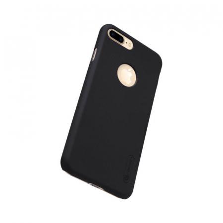 Husa Silicon iPhone 7 Plus Negru Nillkin Frosted2