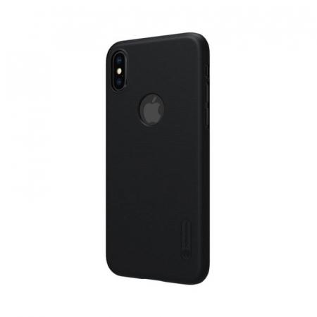 Husa Silicon iPhone X Negru Nillkin Frosted2