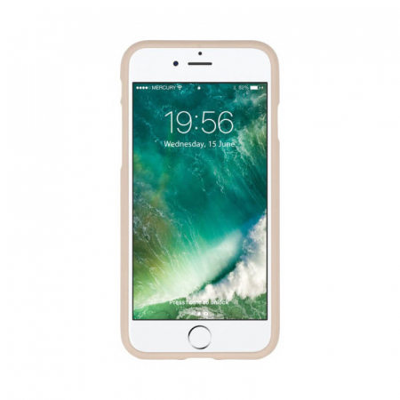 Husa Apple iPhone X Rosegold Jelly Soft1