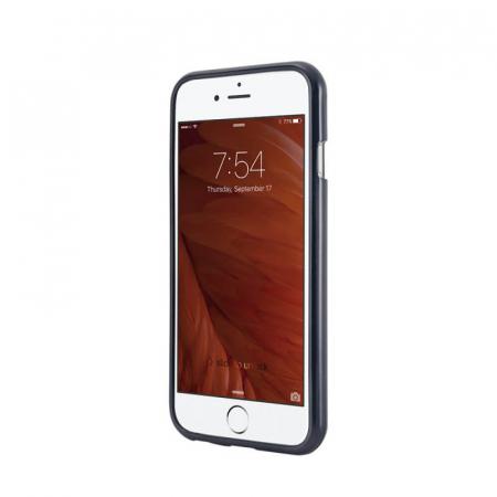 Husa Apple iPhone XS Negru Jelly Metal1