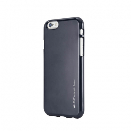Husa Apple iPhone XS Negru Jelly Metal0
