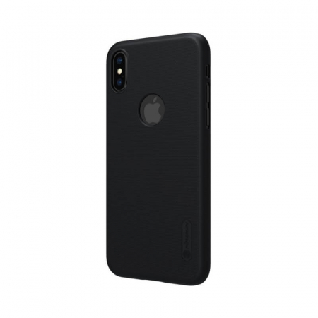Husa Silicon iPhone XS Negru Nillkin Frosted2