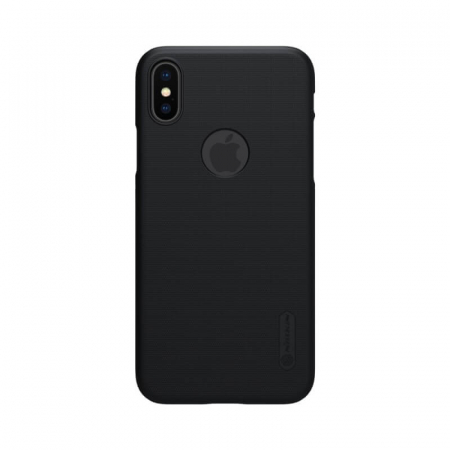 Husa Silicon iPhone XS Negru Nillkin Frosted0
