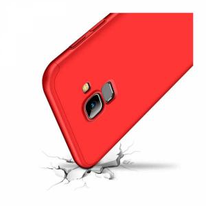 Husa Samsung Galaxy J6 2018 Silicon Rosu1