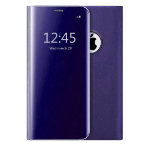 Husa iPhone 7 Plus / 8 Plus Clear View Flip Standing Cover (Oglinda) Mov (Purple)0