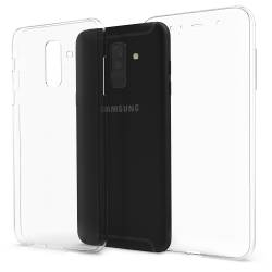 Husa Samsung Galaxy A6 Plus 2018 / J8 2018 / A9 Star Lite Silicon TPU Transparent Ultraslim 0.3mm1