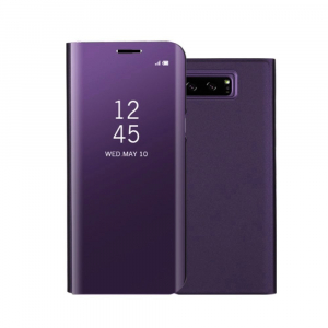 Husa Samsung Galaxy Note 8 Clear View Flip Standing Cover (Oglinda) Mov (Purple)0