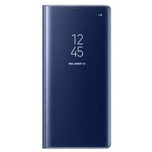 Husa Samsung Galaxy Note 8 Clear View Flip Standing Cover (Oglinda) Albastru (Blue)0