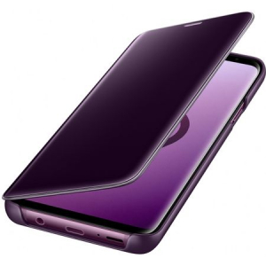Husa Samsung Galaxy S9 Plus Clear View Flip Standing Cover (Oglinda) Mov (Purple)1