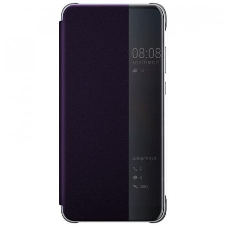 Husa Flip Samsung A20S Mov Tip Carte Art0
