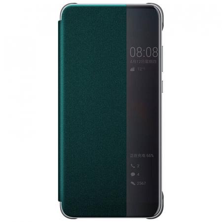 Husa Flip Samsung A42 5G Verde Tip Carte Art0