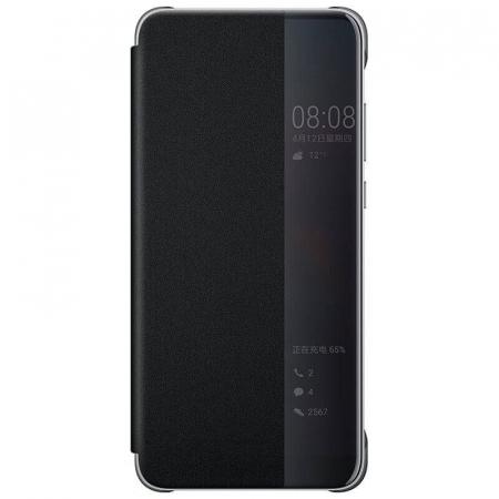 Husa Flip Samsung A71 Negru Tip Carte Art0