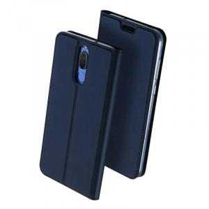 Husa Flip Huawei Mate 10 Lite 2017 Tip Carte Bleumarin Skin DuxDucis0