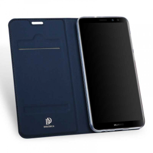 Husa Flip Huawei Mate 10 Lite 2017 Tip Carte Bleumarin Skin DuxDucis1