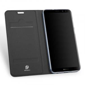 Husa Flip Huawei Mate 10 Lite 2017 Tip Carte Negru Skin DuxDucis1