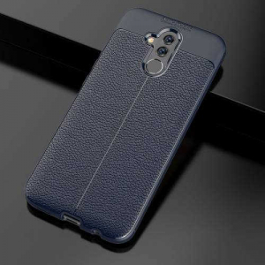 Husa Huawei Mate 20 Lite 2018 Silicon TPU Colorat Dark Blue-Autofocus1