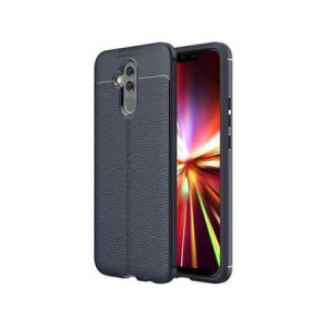 Husa Huawei Mate 20 Lite 2018 Silicon TPU Colorat Dark Blue-Autofocus0