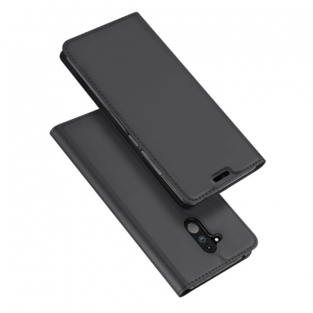 Husa Huawei Mate 20 Lite 2018 Toc Flip Tip Carte Portofel Negru Piele Eco Premium DuxDucis [4]