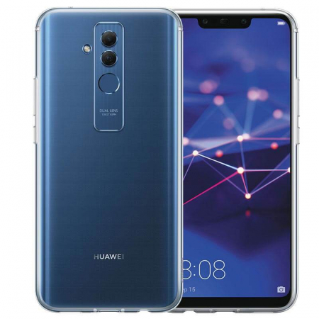 Husa Huawei Mate 20 Lite Flip Oglinda Negru Tip Carte Clear View [5]