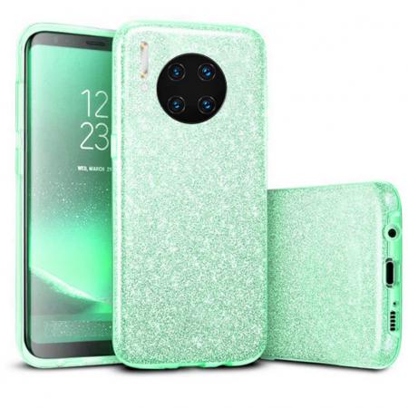 Husa Huawei Mate 30 Pro 2019 Sclipici Carcasa Spate Verde Silicon TPU