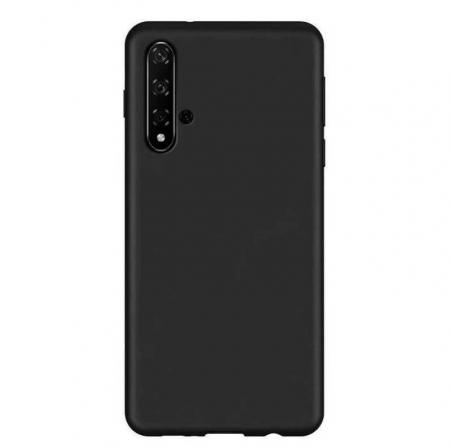 Husa Huawei Nova 5T Negru Silicon Slim protectie Premium Carcasa3