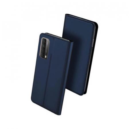 Husa Huawei P Smart 2021 Flip DuxDucis Skin Albastru0