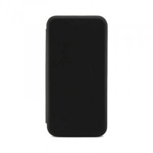 Husa Huawei P20 Lite 2018 Tip Carte Flip Cover din Piele Ecologica Portofel cu Inchidere Magnetica Negru [0]