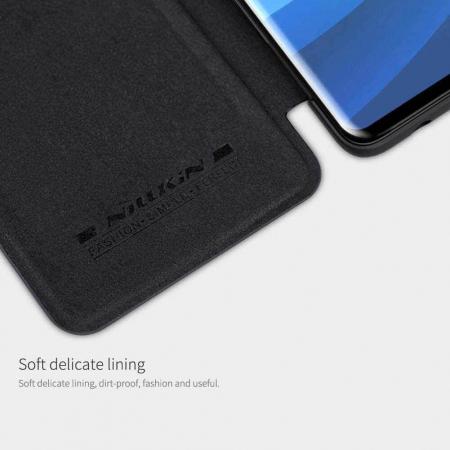 Husa Flip Huawei P30 Lite Negru Tip Carte Magnetica Nillkin Qin [2]