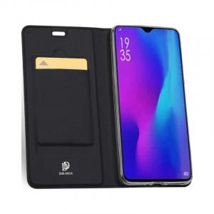 Husa Huawei P30 Pro 2019 Toc Flip Tip Carte Portofel Negru Piele Eco Premium DuxDucis [1]