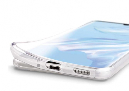 Husa Huawei P30 Pro 360 Grade Silicon Fata Spate Transparenta3