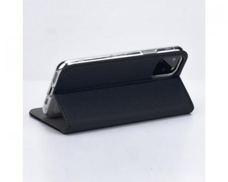 Husa Huawei P40 Lite 2020 Tip Carte Flip Cover Smart Negru [1]