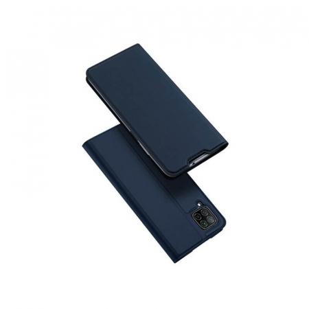 Husa Flip Huawei P40 Lite Tip Carte Bleumarin Skin DuxDucis