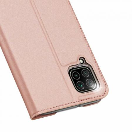 Husa Huawei P40 Lite 2020 Toc Flip Tip Carte Portofel Roz Piele Eco DuxDucis5