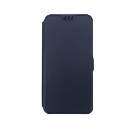 Husa Huawei P40 Lite Albastru Flip Cover Atlas Smart [0]