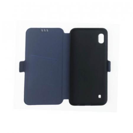 Husa Huawei P40 Lite Albastru Flip Cover Atlas Smart [1]