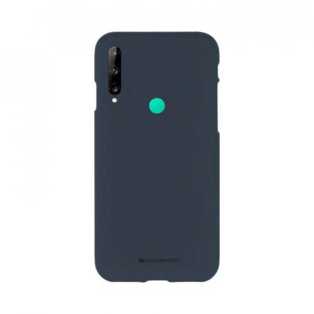 Husa Huawei P40 Lite E Albastru Jelly Soft0