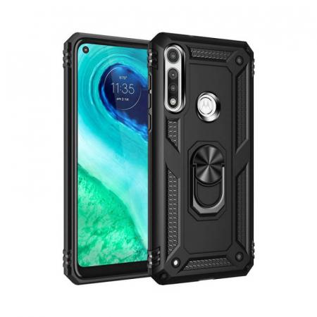 Husa Huawei P40 Lite E Negru Silicon Antisoc Jar