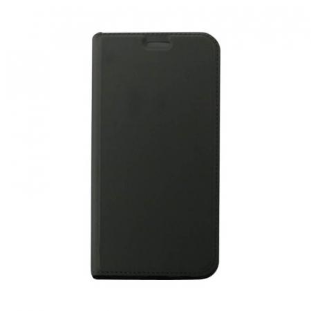 Husa Flip Huawei P40 Lite E Tip Carte Negru Focus [0]
