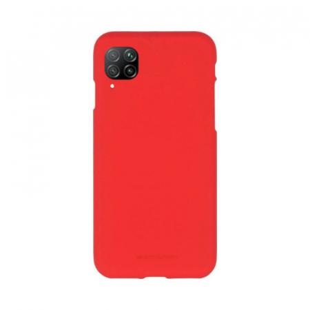 Husa Huawei P40 Lite Rosu Jelly Soft0
