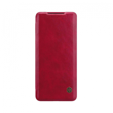 Husa Huawei P40 Lite Rosu Nillkin Qin0