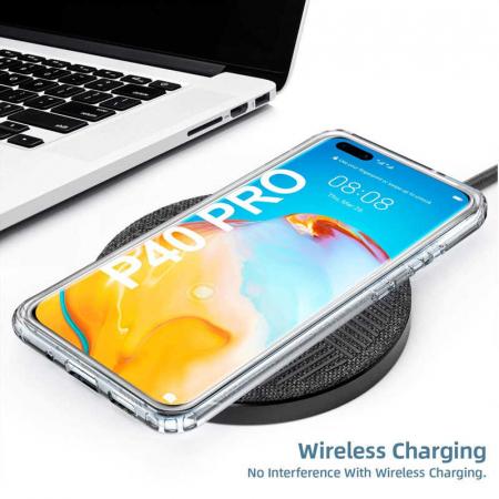 Husa Huawei P40 Pro Full Cover 360 Grade Transparenta [4]