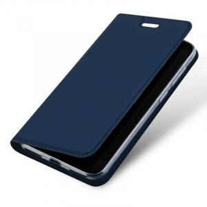 Husa Huawei P9 Lite Mini Toc Flip Tip Carte Portofel Bleumarin Piele Eco Premium DuxDucis3