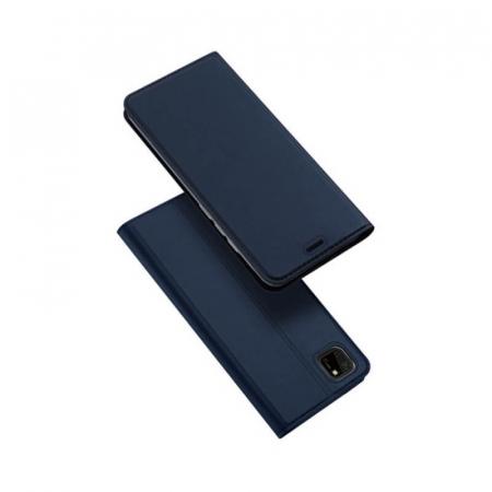 Husa Flip Huawei Y5P Tip Carte Bleumarin Skin DuxDucis0