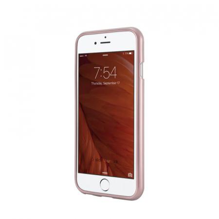 Husa Huawei Y5P Rosegold Jelly Metal1