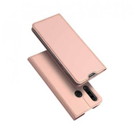 Husa Huawei Y6P Flip DuxDucis Skin Roz0