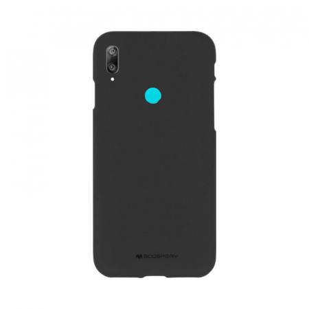 Husa Huawei Y7 2019 Negru Jelly Soft0