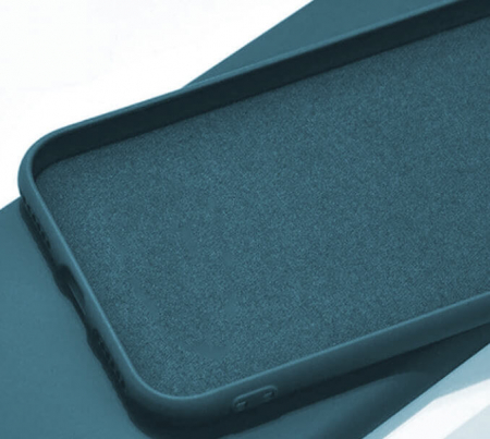 Husa iPhone 11 2019 Bleumarin Silicon Slim protectie Premium Carcasa1